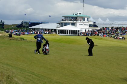 Phil Mickelson at Castle Stuart in 2013