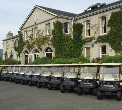 Powerscourt Golf Club adopts 16 new Precedent i3 vehicles from Club Car