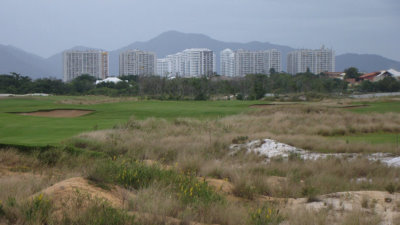 Olympics Golf Course is in full grow-in mode (photo credit IGF)