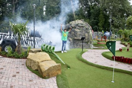 Safari Adventure Golf is great fun