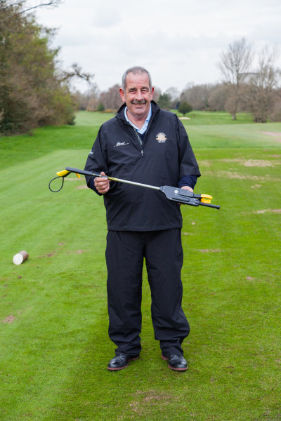 Sam Torrance OBE with the Tee-Up by Northcroft Golf