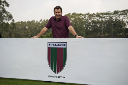 Although competing at St Andrews this week, Sir Nick Faldo will be keeping close tabs on the Faldo Series Shanghai Championship