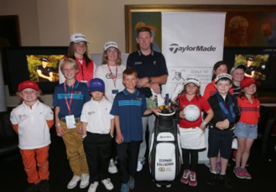 the Stephen Gallacher Foundation – which encourages and develops young golfers in the Borders and Lothian regions of Scotland
