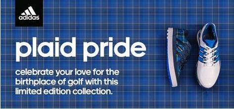 adidas golf Plaid Pride