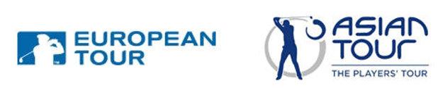 European andAsian Tour logos