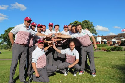 Foremost Golf team with Ashworth Cup