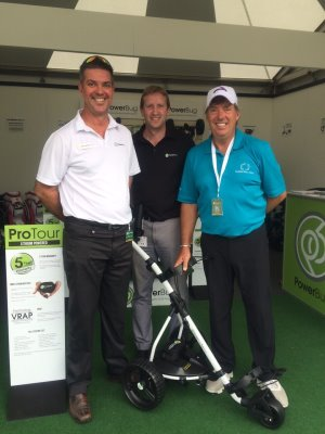 Mark Anderson & Steve Harden from PowerBug with Barry Lane