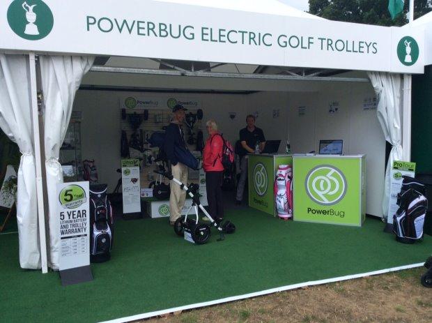 PowerBug at The Senior Open