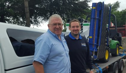 Richard Campey and new Product Specialist Ben Taylor (right)