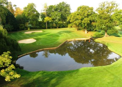 The 12th hole at Hever Castle Golf Club, now a member of the Golf in Kent group