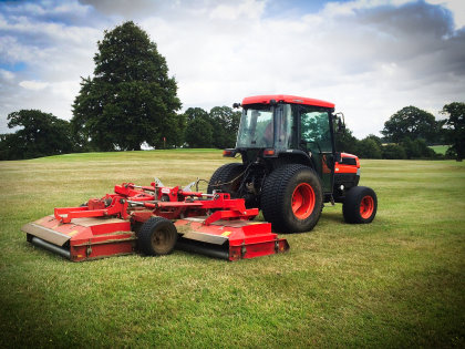 Stoneleigh Deer Park Golf Club is the proud new owner of a Trimax Snake