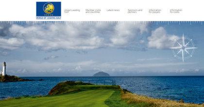 World of Leading Golf website