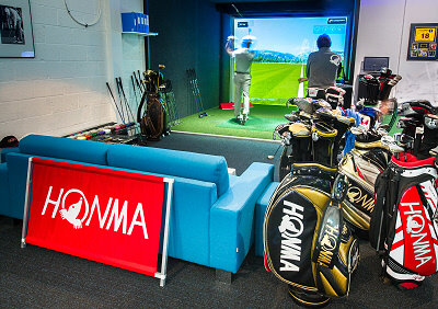 Golfers can now try and buy equipment from the Japanese clubmaker