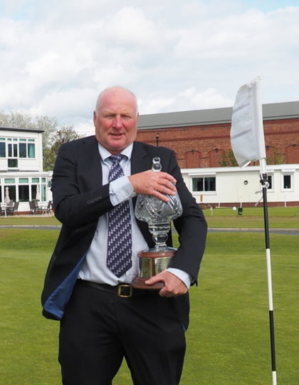 The 19th Open Champion, Alan Davey from Pyecombe