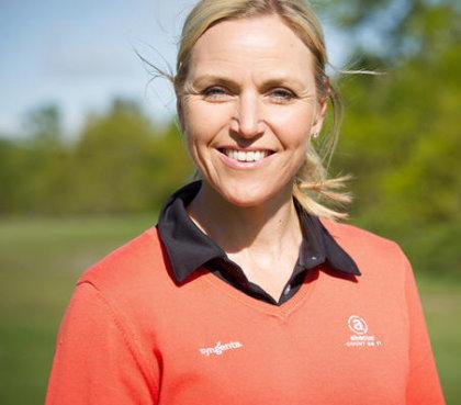 Carin Koch Syngenta Golf Ambassador