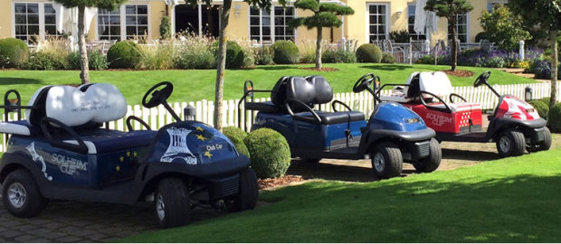 Club Car has supplied 177 vehicles to Golf Club St. Leon-Rot for The 2015 Solheim Cup