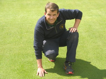 Michael Slack, Course Manager at Cowglen GC and BIGGA Scotland West committee member