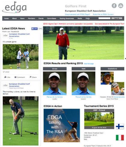 EDGA website