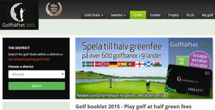 Golfhaftet website