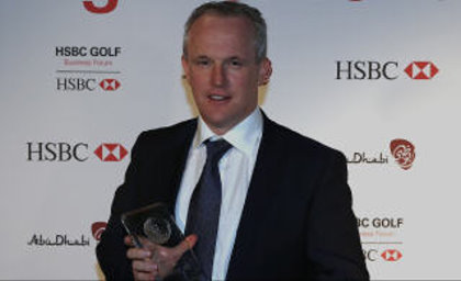Last year's winner, Tony Judge of ClubstoHire