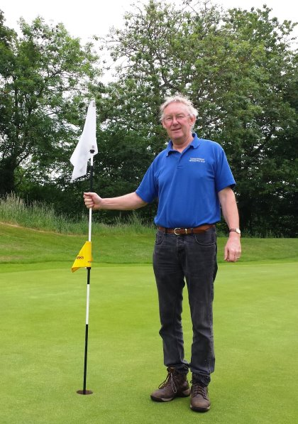 Malcolm Lathan Course Manager Hexham GC