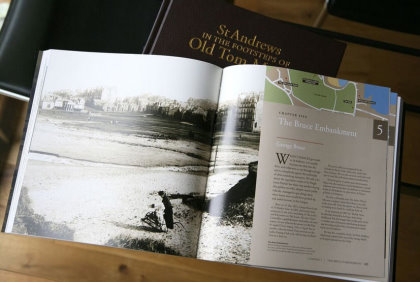 St Andrews Tom Morris Footsteps