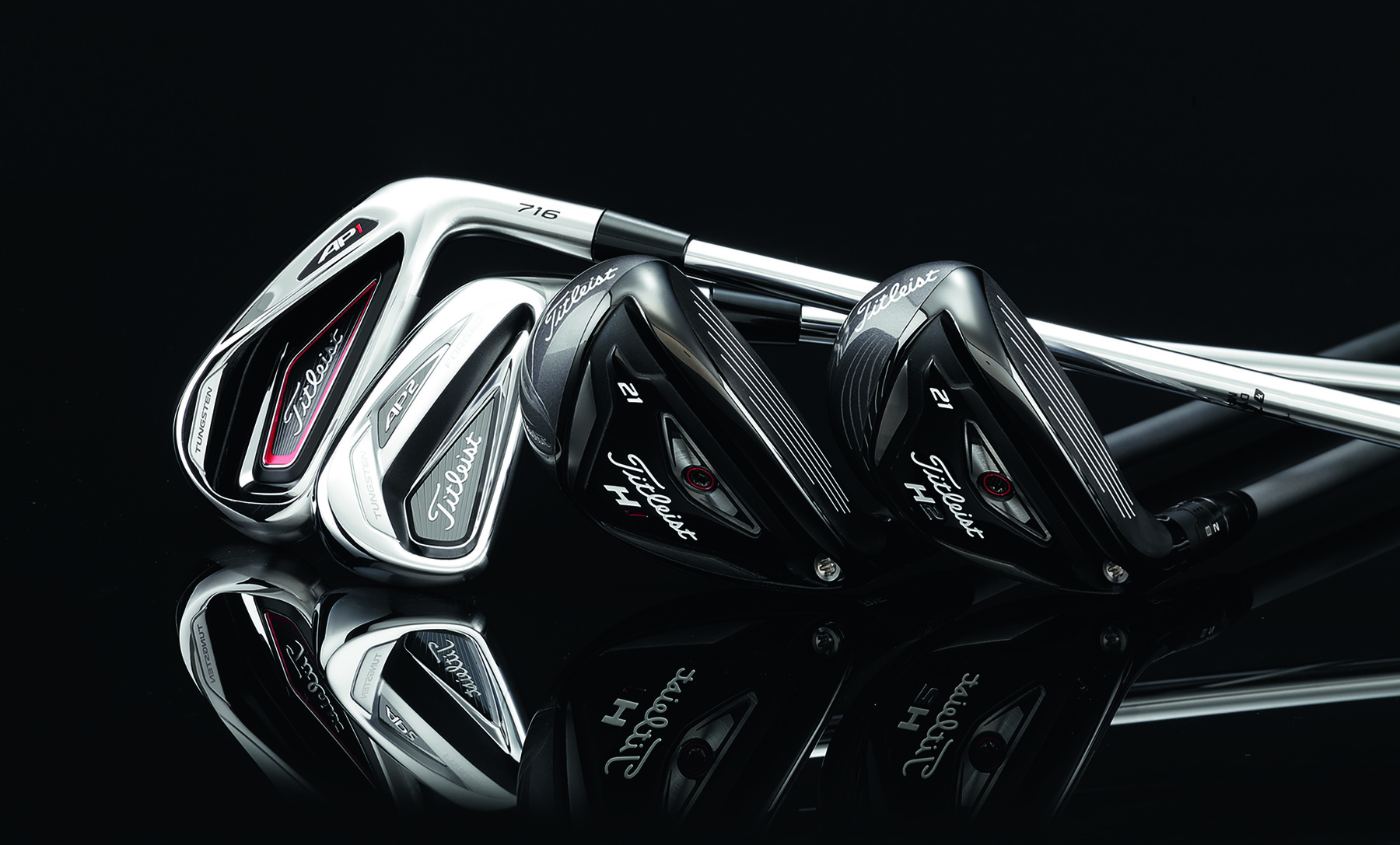 The new Titleist 716 AP1 & AP2 irons and 816 hybrids