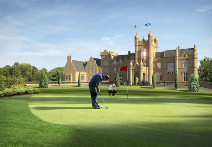 Ury Estate 18th Hole (artist's impression)