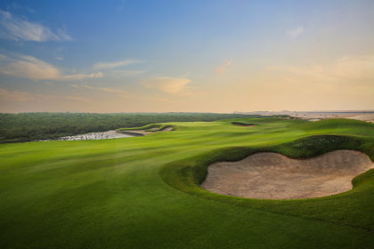 Troon's newest course in the Middle East is the magnificent Al Zorah Golf Club