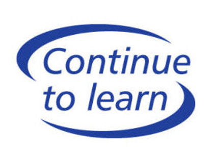 Continue to Learn logo