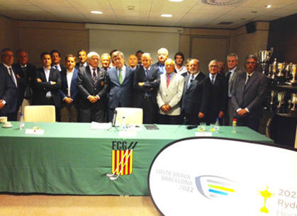 Miguel Cardenal, Secretary of State for Sport, meets Catalunya golf leaders to reiterate Spanish Government support for Costa Brava Barcelona 2022