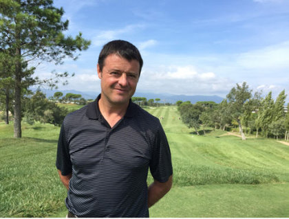 PGA Catalunya Resort Course Manager David Bataller whose dedicated team of greenkeepers have been named Champions of the Green for August 2015 by GEO