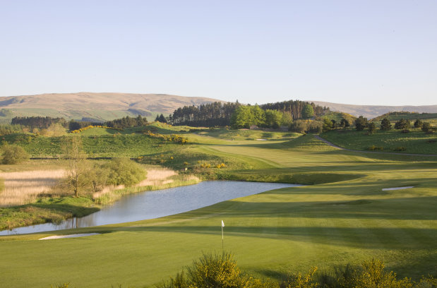 Gleneagles PGA Centenary 9th hole