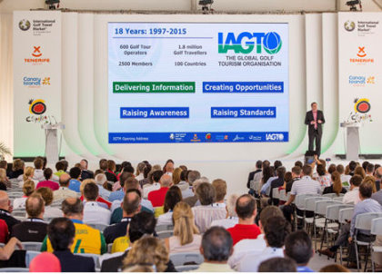 IAGTO Chief Executive, Peter Walton, makes his Opening Address at IGTM 2015 in Tenerife