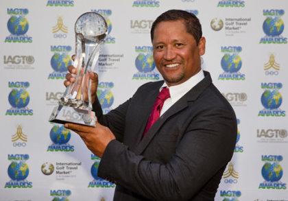 IAGTO Honorary Award winner, Michael Campbell