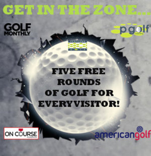 London Golf Show Prtner poster