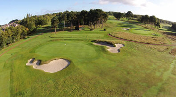 Moortown course aerial view