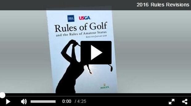 Rules of Golf video