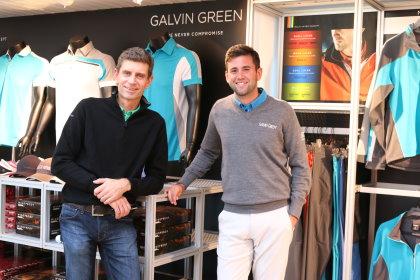 Mats Lundqvist, left, and Jack Harrison (image courtesy of The PGA)