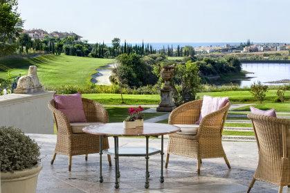 Terrace at Hotel Villa Padierna