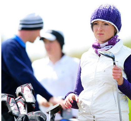 Never mind the weather – wrap up warm and carry on golfing with Golf Express (image © Leaderboard Photography)