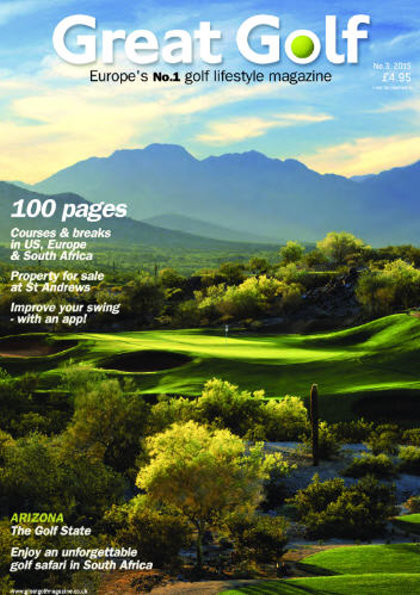 Great Golf magazine front cover