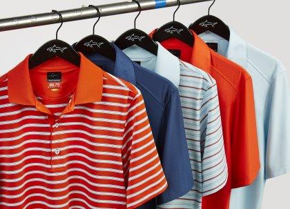 Greg Norman polo shirts