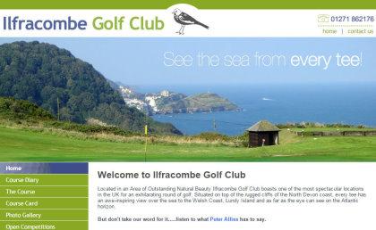 Ilfracombe GC website