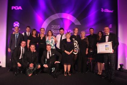 Kingsbarns Golf Links team celebrates Scottish Golf Tourism Awards win