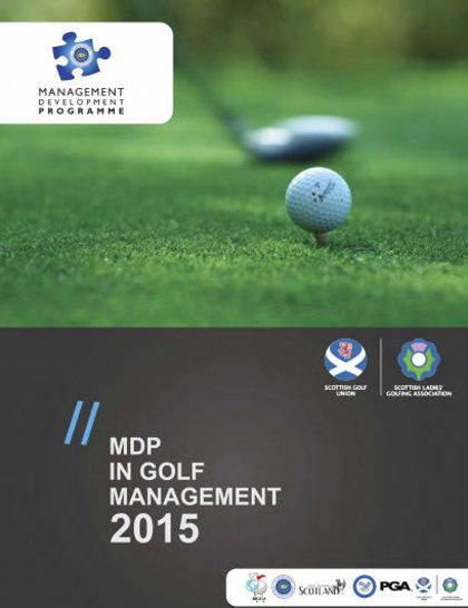 MDP Golf Management brochure