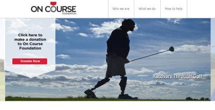 On Course Foundation website