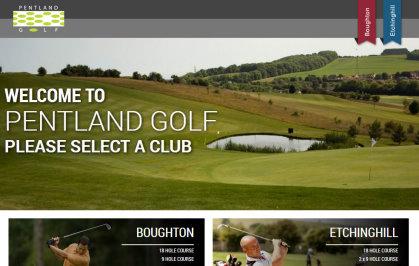 Pentland Golf website