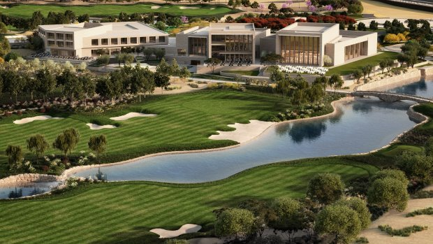Qatar International Golf Club - 18th hole