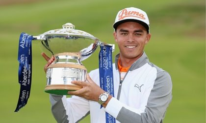 Rickie Fowler and Scottish Open trophy